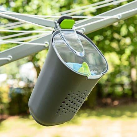 Minky Brite Peg Basket - With 24 Soft Grip Pegs